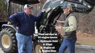 10. Changing the Oil and Filter on a Compact Tractor
