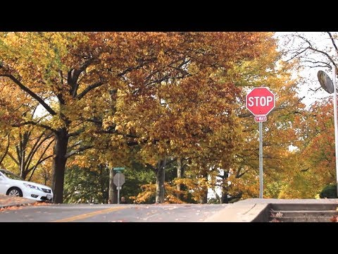 Fall in Athens Ohio
