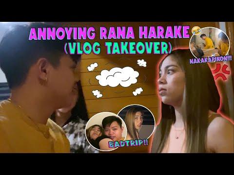ANNOYING RANA HARAKE (VLOG TAKEOVER) NAKAKAPIKON SILA!!!!! | RANA HARAKE