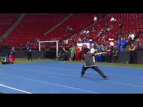 2014 Collegiate Wushu - Traditional Open Barehand James Roland