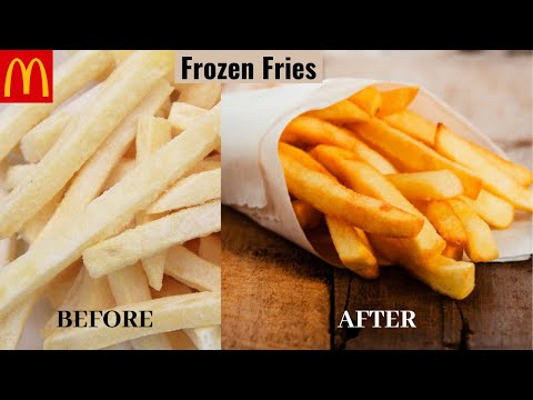 Frozen Fries   How to Make Perfect Frozen French Fries   Store French Fries