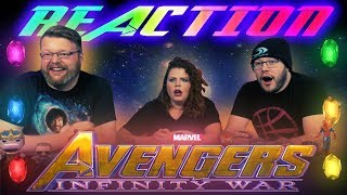 Video Marvel Studios' Avengers: Infinity War Official Trailer REACTION!! MP3, 3GP, MP4, WEBM, AVI, FLV Januari 2018