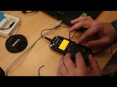 Test Audio Tascam DR-05 v2 e Boya LM-20