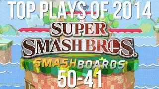 Super Smash Bros Top 50 Plays of 2014 – Part 1/5 (50-41)