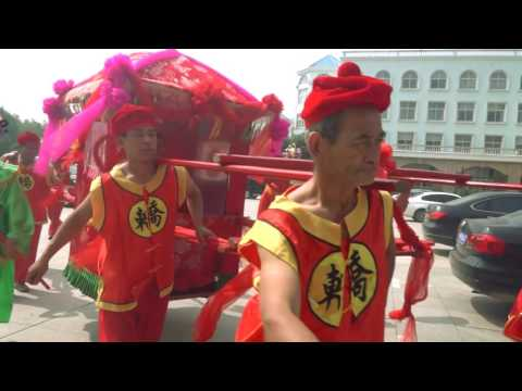 International Traditional chinese wedding in Henan (видео)