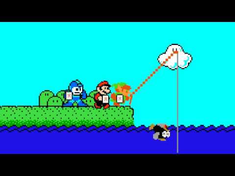 Nintendo fishing trip