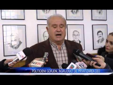 POLITICIENII GORJENI, ÎNGRIJORAȚI DE PRIVATIZAREA CEO