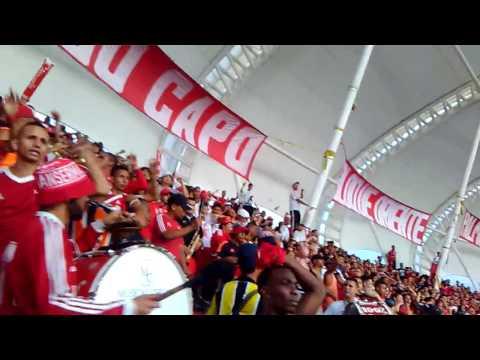 AMERICA DE CALI-ORQUESTA- BARON -ROJO -SUR- VS -ONCE- CALDAS- 4x2 - Baron Rojo Sur - América de Cáli