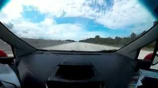 Timelapse Drive from Melbourne Florida to Orlando International Airport - Full HD