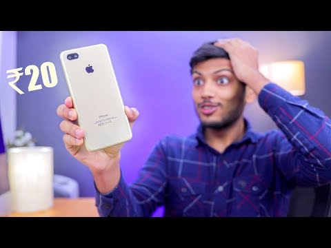 TURN ANY PHONE INTO IPHONE XS GOLD for Just Rs 20 ! *Mobile Skin Trick*