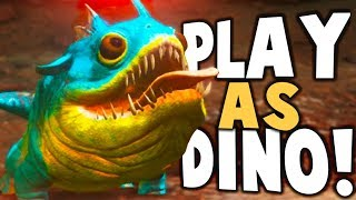PLAY AS DINO ABERRATION PVP! GIANT CREATURES BATTLES! - Ark Aberration Modded Gameplay