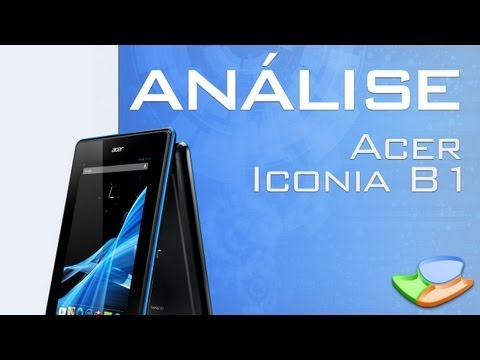 [Análise de Produto] Tablet Acer B1 - Tecmundo