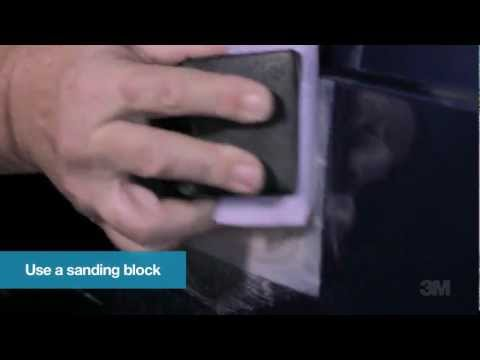 Tech Tip - Applying and Sanding Filler