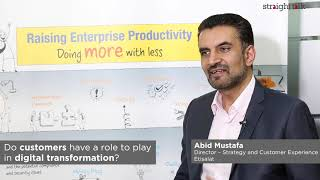 Abid Mustafa, Director at Etisalat, on a new approach to strategic thinking