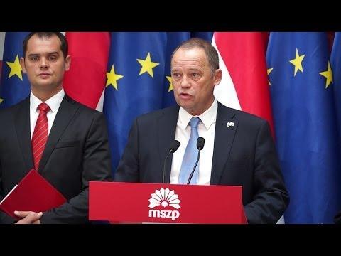 Az MSZP 'baloldali Európát' szeretne