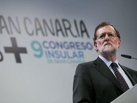 Mariano Rajoy clausura el IX Congreso del PP de Gran Canaria