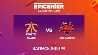 fnatic vs Hellraisers - EPICENTER 2017 EU Quals - map1 - de_cache [yXo, CrystalMay]
