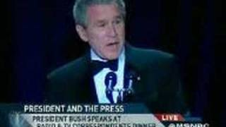 George W Bush Stand Up Comedy (Really Funny!)