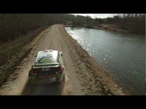 Ken Block x Ford Hybrid Function Hoon Vehicle  Practice Run for the 100 Acre Wood | Video