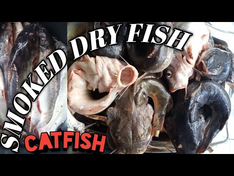 Smoked catfish/ African dry fish/ Nigerian food