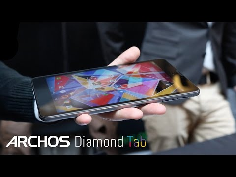 Archos Diamond Tab @ Geek's Live 2015