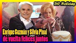 Silvia Pinal y Enrique Guzmán decidieron viajar para calentar el amor.