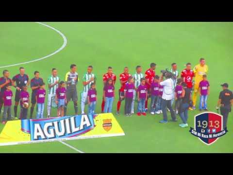 Salida de 1r Tiempo en clasico DIM Vs NAcional. - Rexixtenxia Norte - Independiente Medellín