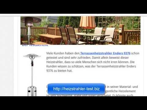 Heizstrahler Test Enders 9376 Terrassenheizstrahler