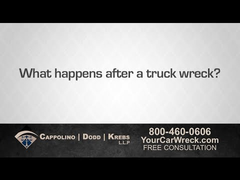 Our Truck Accident Attorney Explains What Happens After a Truck Wreck