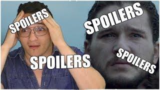 Fui no twitter e a primeiras coisa que vi foi um spoiler enorme de game of thrones 7 temporada episódio 6 e depois disso...