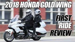 8. 2018 Honda Gold Wing Tour First Ride Review