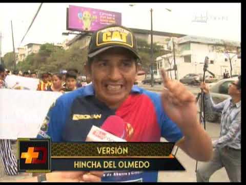 Hinchas de Olmedo piden respuestas a denuncias en contra de la directiva