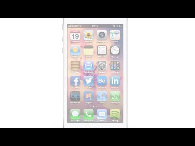 Giao diện theo phong cách phẳng cho thế hệ iOS mới