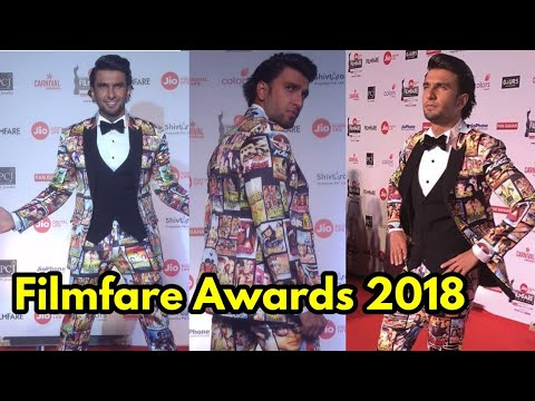 Ranveer Singh Quirky Bollywood Cinema Outfit at Fi