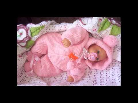Вязать для новорожденных комбинезоны видео