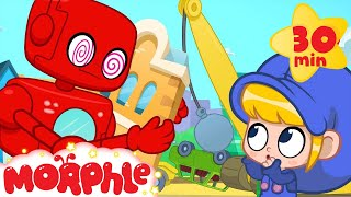 Oh No Morphle got Hypnotized! My Magic Pet Morphle Super hero videos for kids