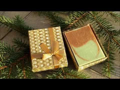 Karácsonyi szappanok díszcsomagolásban