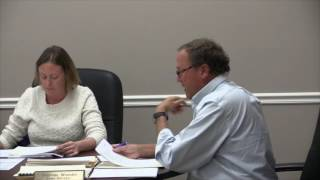 Boothbay Harbor Selectmen Meeting Oct. 11, 2016