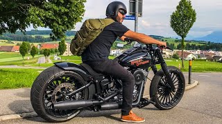 10. Harley-Davidson FXSB Breakout Custom