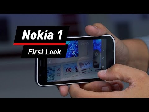 Nokia 1 im Test: Hands-On des 99-Euro-Smartphone