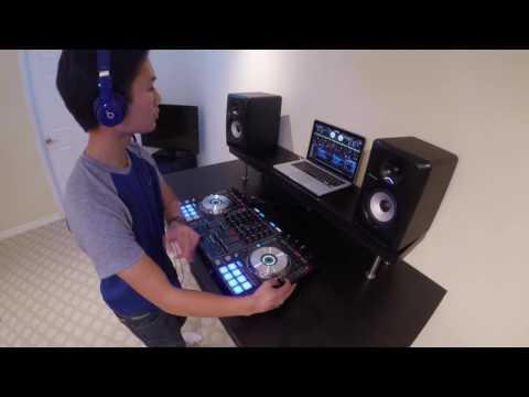 DJ Migz  (Pioneer DDJ SX) - EDM Mix 2016 / 14 yrs Old