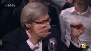 La gabbia sgarbi show politici coglioni euro fatto da for Youtube la gabbia