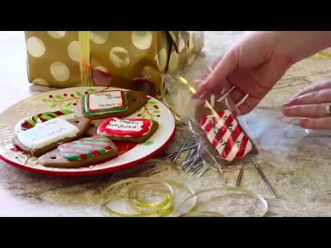 Gingerbread Gift Tag Cookies  - McCormick Recipes