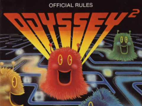 Classic Game Room - KC MUNCHKIN review for Magnavox Odyssey 2 part 1