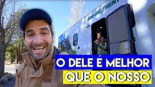 COMO É UM CAMPING DE MOTORHOME  Travel and Share  Romulo e Mirella