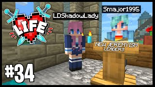THE NEW JEREMYISM CULT LEADERS.. | Minecraft X Life SMP | #34