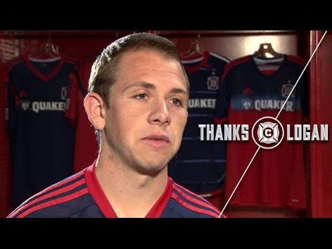 Video: Harry Shipp's Tribute to Chicago Fire's Logan Pause | #ThanksLogan