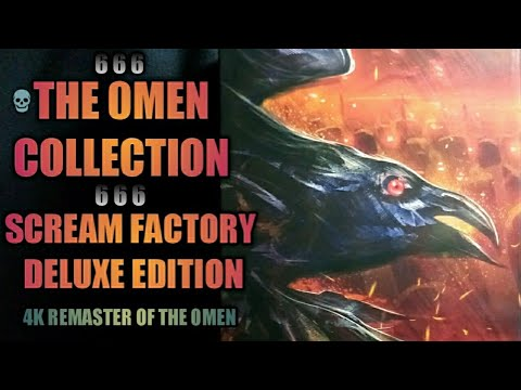 THE OMEN COLLECTION: Scream Factory Deluxe Edition