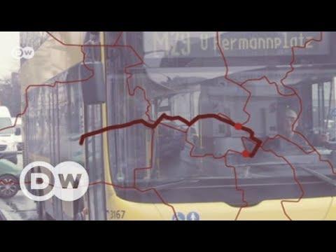 Arm und reich: Mit dem Bus durch Berlin | DW Deutsc ...