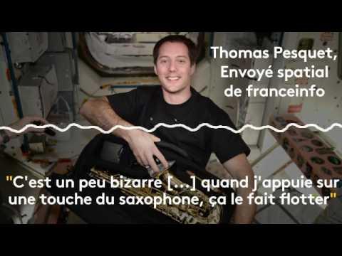 Thomas Pesquet : Jouer du saxophone dans l'espace...